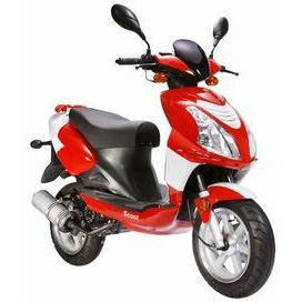Gas Scooter (YL50QT-21C) pictures & photos