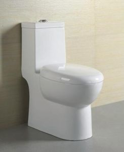 Hotel Bathroom Siphon Jet One Piece Toilet (M-2228)