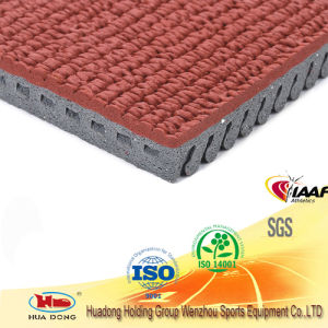 Iaaf Certificated Recycled Rubber Rolls Athletic Running Track Surface pictures & photos