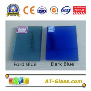 4mm 5mm Dark Blue Reflective Float Glass/Ford Blue Reflective Glass pictures & photos