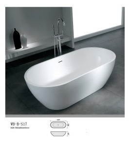 Artificial Stone Bathtub (WB-B-S17)