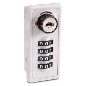 4 Dials Resettable Combination Locker Lock with Decode Function pictures & photos
