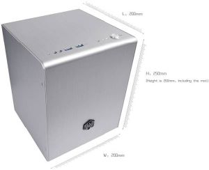 Full Aluminium Cube Mini Itx Case (A3-ITX)