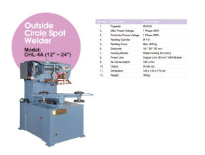 Outer Circle Spot Welder pictures & photos