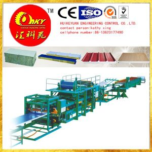 Composite Board Roofing and Wall Clad Roll Forming Machinery pictures & photos