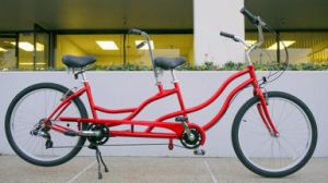 26 Inch Tandem Bike, Tandem Beach Cruiser of 7 Speed pictures & photos