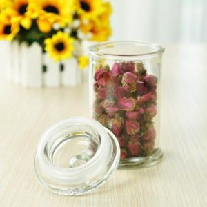 Glass Jar for Tea with Sealing Glass Lid pictures & photos