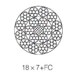 China Galvanized or Ungalvanized 18X7+FC Anti-Twisting Non ...