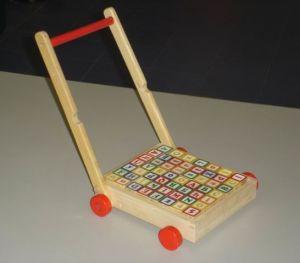 Wooden Toys - Alphabet Block-Pushcart (ZYYB-0182)