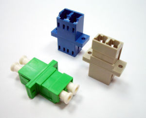 LC Duplex Fiber Optical Adapter