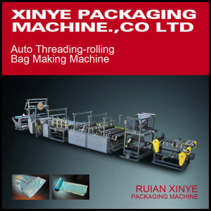 Rubbish Bag with Printed on Rolling Making Machine pictures & photos