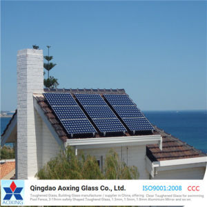 Ar-Coating Tempered Glass Ultra Clear Solar Glass for Solar Panel pictures & photos