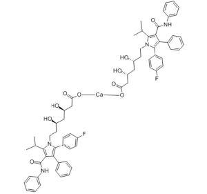 Atorvastatin Calcium (CAS: 134523-03-8)