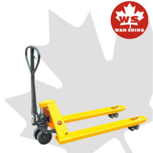5000kg Heavy Duty Type Hand Pallet Truck (WB) pictures & photos