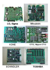 Elevator Print Circuit Board Schindler