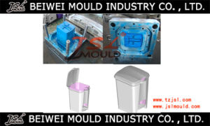 Custom Plastic Injection Garbage Can Mold pictures & photos