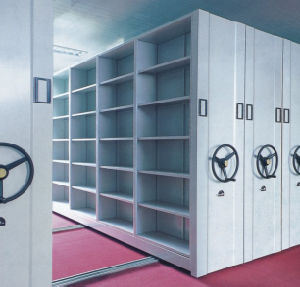 Steel Office Filing Cabinet / Mobile Shelving System (T4B-04SL) pictures & photos