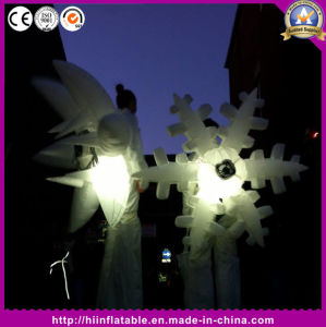 Wonderful Night Party Amazing Inflatable Stilts Performance Costumes Snowflake pictures & photos