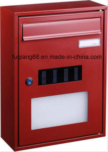 Wholesale Stainless Steel Mailbox with Solar Light pictures & photos