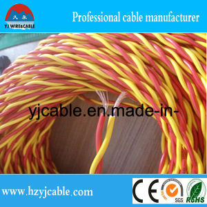 2*1.5mm PVC Twisted Cable 1.5mm pictures & photos