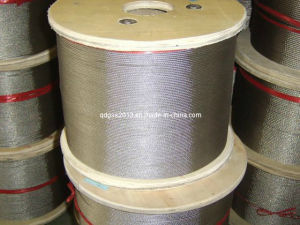 AISI316 1.5mm 7X7 Stainless Steel Wire Rope and Cable