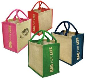 Eco Friendly Jute Bag Green Jute Bag Recycled Jute Bag pictures & photos