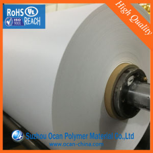 Opaque White Matt Plastic PVC Film Roll for Silk-Screen Printing pictures & photos