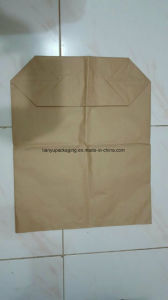 Multilayer Kraft Paper Bag with Liner Food Packaging Cocoa Powder pictures & photos