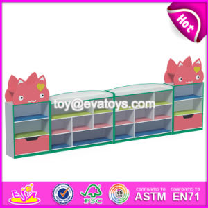 Customized Kindergarten Storage Furniture Wooden Children Toy Shelves W08c199 pictures & photos