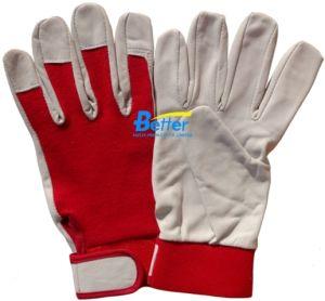 Grain Goat Leather Driver Work Gloves (BGGD101)