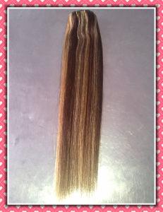 "Premium Quality Remy Human Hair Silky 20"" P4/27# (HHR-20P427) pictures & photos"