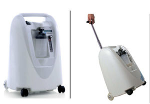 Medical Gas Equipments, Respiratory Wquipment Type Battery Portable Oxygen Concentrator pictures & photos