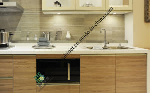 Melamine MDF Flat Packing Kitchen Cabinets (ZS-397) pictures & photos