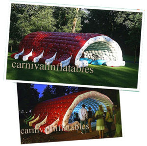 Inflatable Caterpillar Tent for Presentation and Performance/ Inflatable Party/ Wedding/ Event/ Dome/ Exhibition Tent