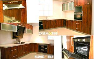 PVC Door Panel Kitchen Cabinet (ODR-K016)