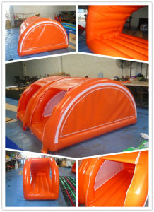 Outdoor Inflatable Camping Lodge Tent with Bed pictures & photos