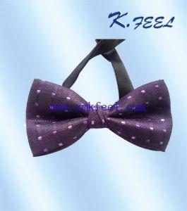 100% Silk Woven Bowtie for Tuxedo Suits (KFLJ-029)