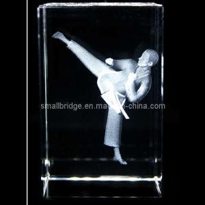 Crystal 3D Taekwondo