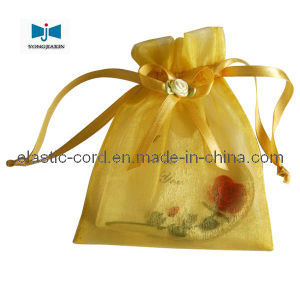 Organza Pouch With Ribbon and Bow (R6017)