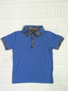 Fashion Children Polo Shirt for Boy Sq-6269 pictures & photos