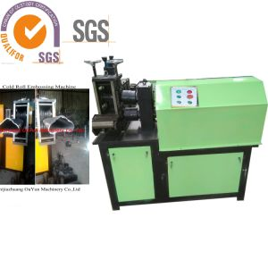 Iron Embossing Machine of Flat Iron Square Pipe/Wrought Iron Handrail Making Machine for Home Decorative pictures & photos