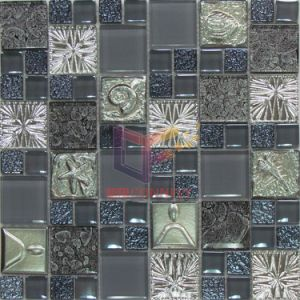 Grey Crystal and Resin Mosaic (CSR070) pictures & photos