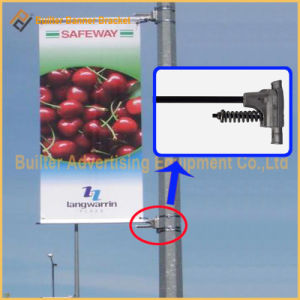 Metal Street Pole Advertising Poster Hanger (BT-BS-034) pictures & photos