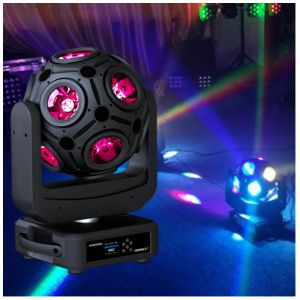 12 PCS RGB LED Football Effect Light Stage Light pictures & photos