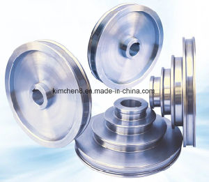 Tungsten Carbide Coating Tyre Cord Drawing Pulley V Belt Pulley Wheel Idler Pulleys pictures & photos
