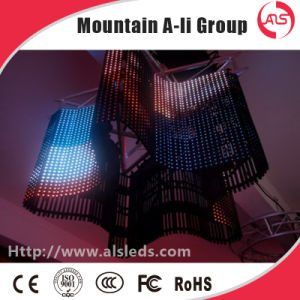 P15 Full Color Outdoor Grid Curtain Transparent LED Video Screen for Advertising