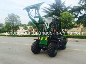 Ce Certificate 0.8ton Zl08f Mini Wheel Loader pictures & photos