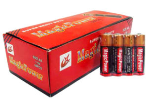 R6 AA Battery with Full Box Packing (Magicpower) pictures & photos