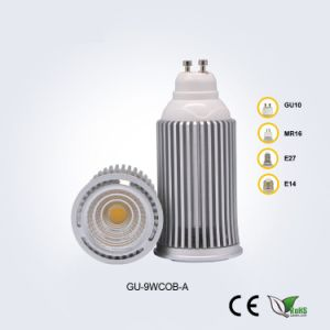 GU10 9W85-265V COB LED Spotlight pictures & photos