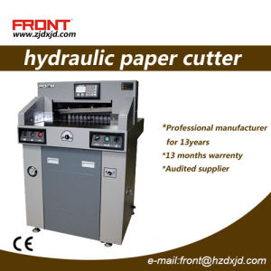 Double Hydraulic Program-Controlled Paper Cutter (480HP) 480mm Size pictures & photos